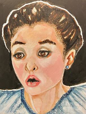 Painting - Evgenia Medvedeval by Anne Buffington