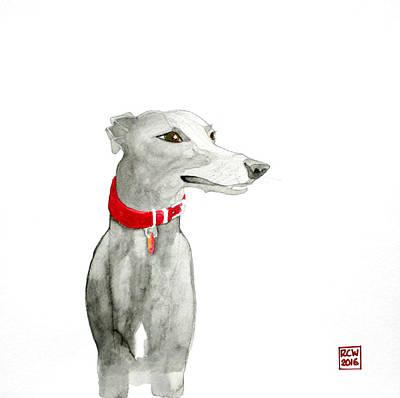 Evie Art Print by Richard Williamson