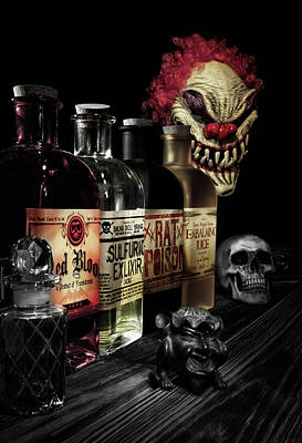 Bottle Photograph - Evil Alchemy by Tom Mc Nemar