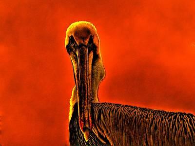 Evil Bird Art Print by William Jones