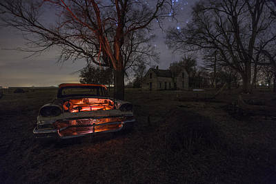 Photograph - Evil Dead  Night Version  by Aaron J Groen