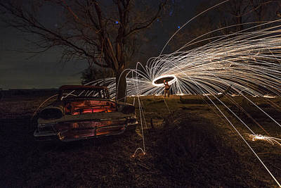 Photograph - Evil Dead Steel Wool Version by Aaron J Groen