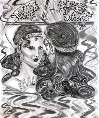 Evil Jezebel Original by Yumiko Reed