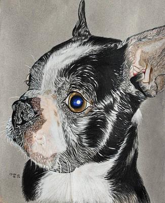 Evo Art Print by Ada Astacio
