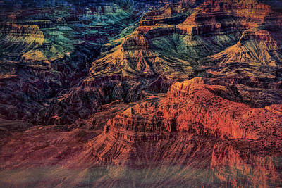 Photograph - Evocative Canyon by John M Bailey