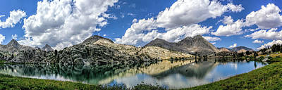 Photograph - Evolution Lake And The Hermit by Martin Gollery