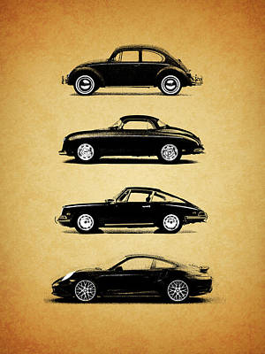 Porsche Photograph - Evolution by Mark Rogan