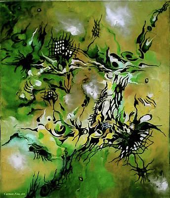 Painting - Evolving Element Of Life by Carmen Fine Art
