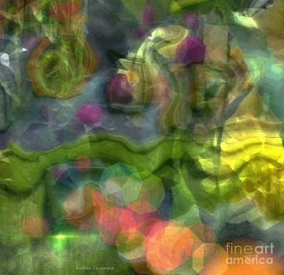 Digital Art - Evolving Mystery by Kathie Chicoine