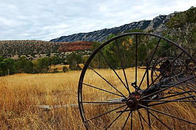 Ewing-snell Ranch 3 Art Print by Larry Ricker