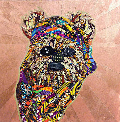 Tapestry - Textile - Ewok Star Wars Afrofuturist Collection by Apanaki Temitayo M
