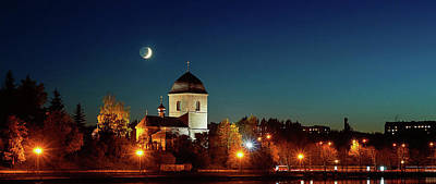 Photograph - Exaltation Of The Holy Cross Church Over Ternopil Pond, The Oldest Church In The City Ternopil by Dmytro Vashchenko