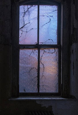Photograph - Exam Room Window by Tom Singleton