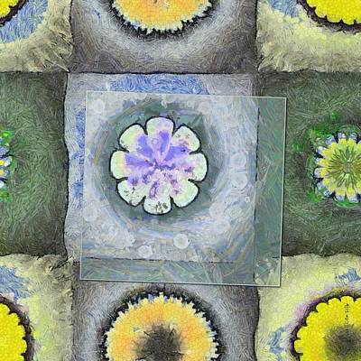 Mental Painting - Exantlate Mental Picture Flowers  Id 16166-002918-32681 by S Lurk