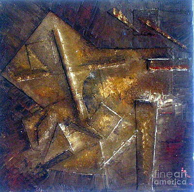 Excalibur Painting - Excalibur by Dawn Hough Sebaugh
