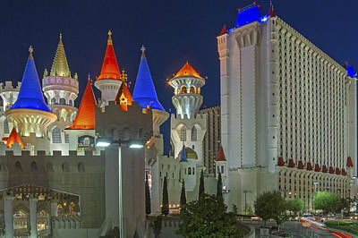 Photograph - Excalibur In Las Vegas by Willie Harper