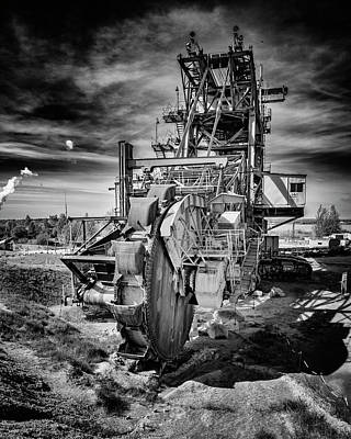 Photograph - Excavator by Thomas Schreiter