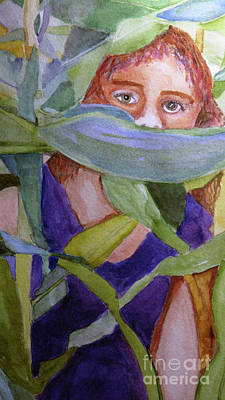 Painting - Excerpt From The Peeper by Sandy McIntire