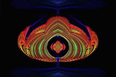 Digital Art - Excess Energy by Mike Breau