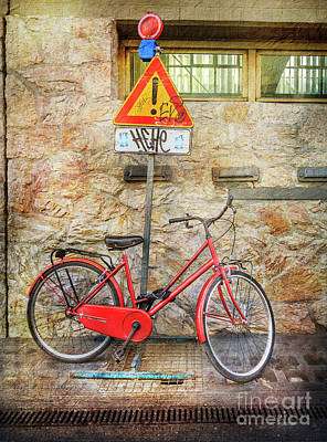Photograph - Exclamation Hot Bicycle by Craig J Satterlee