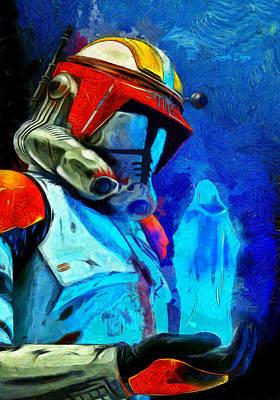 Movies Digital Art - Execute Order 66 Remake - Da by Leonardo Digenio
