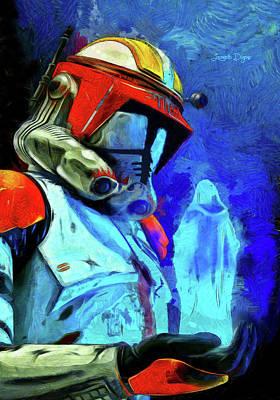 Steven Painting - Execute Order 66 Remake by Leonardo Digenio