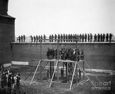 Photograph - Execution Of Conspirators by Granger
