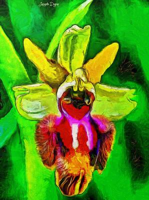 Animal Portraits - Executive Flower - PA by Leonardo Digenio