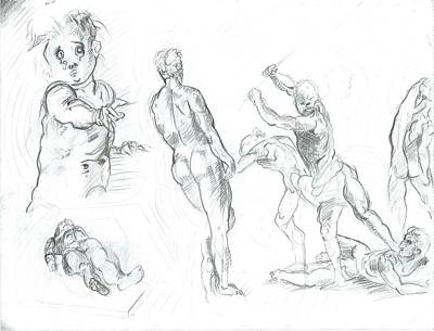 Exercise Art Print by Joseph  Arico