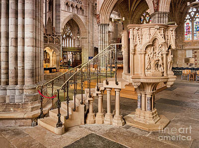 Photograph - Exeter Cathedral by Colin and Linda McKie