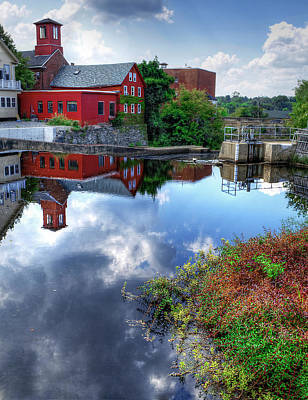 Exeter New Hampshire Art Print by Rick Mosher