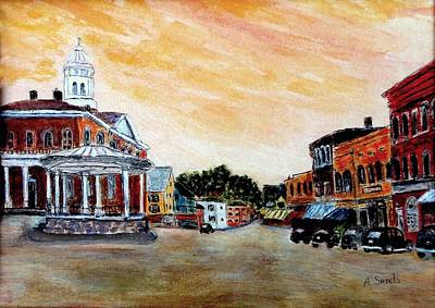 Exeter Nh Circa 1920 Art Print