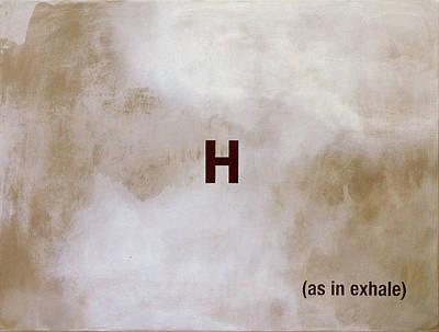 Exhale Art Print by Andrew Crane