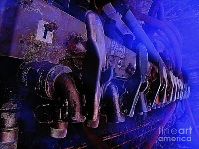 Exhaust And Oil Spickets Art Print by The Stone Age
