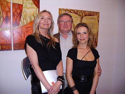 Painting - Exhibition At Polish Consulate by Kasia Blekiewicz
