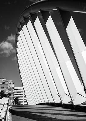 Photograph - Exhibition Bridge Valencia Spain by Joan Carroll