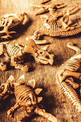 Exhibition In Prehistoric Art Art Print