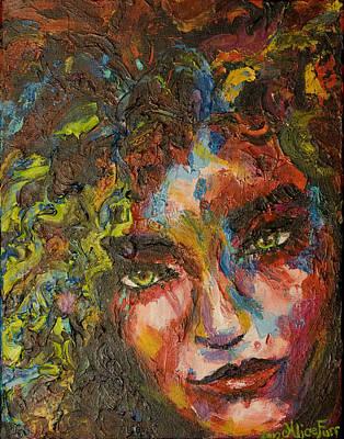 Exhilarating Darkness Art Print by Alice Fairbank Furr