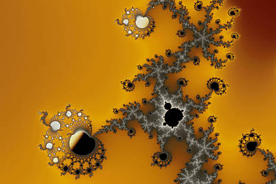 Exiled Mandelbrot No. 75 Art Print by Mark Eggleston