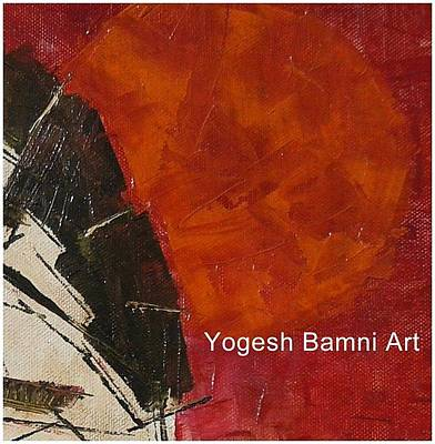 Hyderabad Artist Painting - Existence by Yogesh Bamni