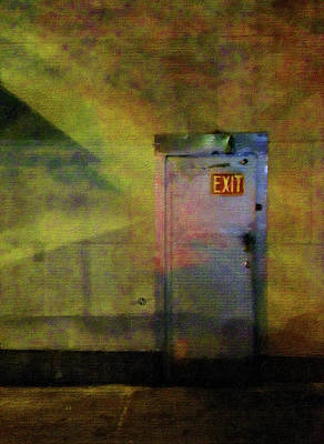 Painting - Exit 1 by Tony Rubino