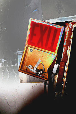 Photograph - Exit by Dana Flaherty