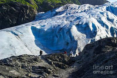 Photograph - Exit Glacier by Jennifer White