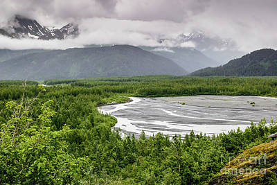 Photograph - Exit Glacier by Richard Smith