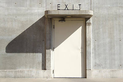 Dam Photograph - Exit by Mike McGlothlen