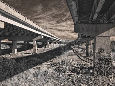 Photograph - Exit Ramp by Fred Moore