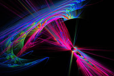 Exiting Hyperspace Art Print