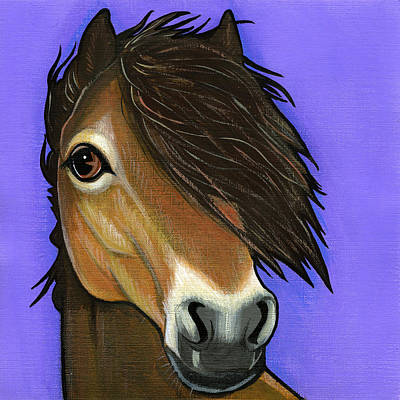 Painting - Exmoor Pony  by Leanne Wilkes