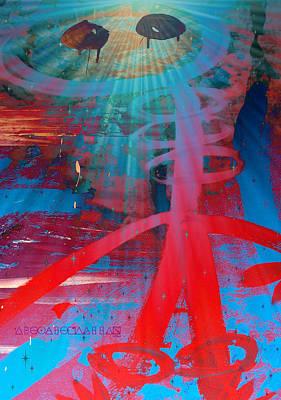 Digital Art - Exo Alien Bringer Of Light by Cleaster Cotton