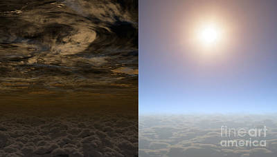 Deep Sky Photograph - Exoplanet Hat-p-11b Aka Kepler-3b by Science Source